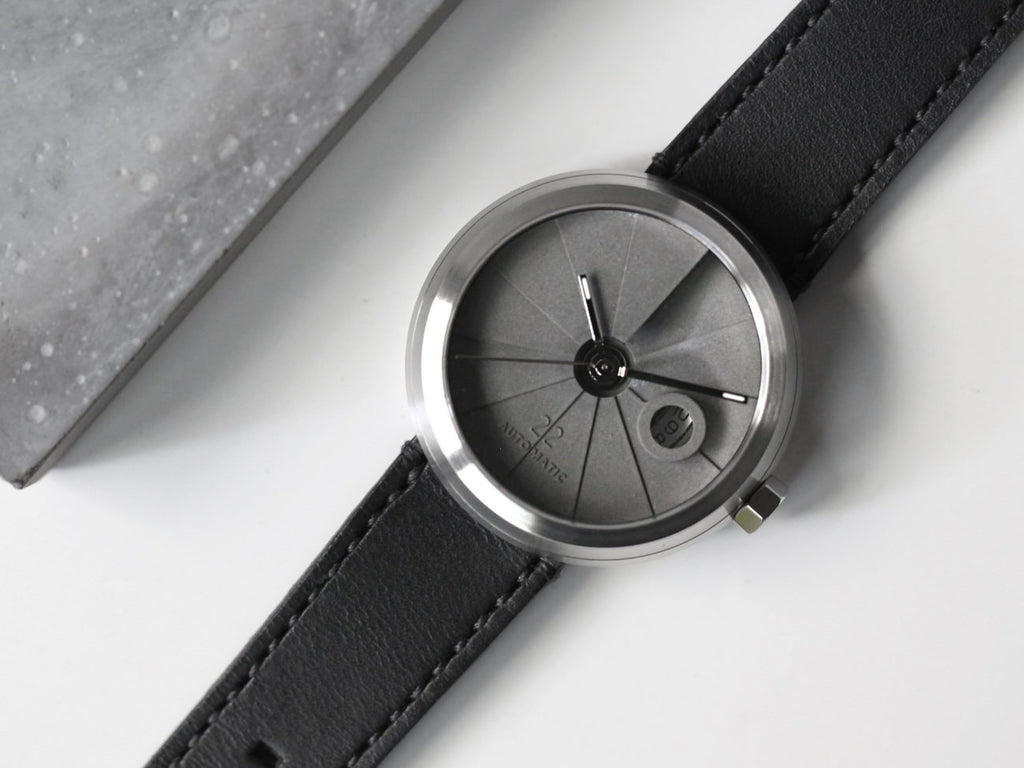4D Concrete Watch Automatic Minimal Edition