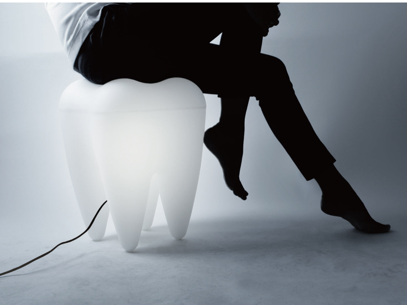 Tooth Lamp/Stool
