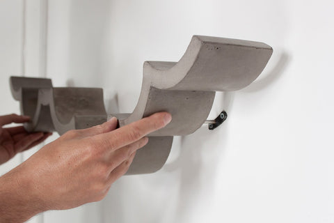 Cloud Concrete Toilet Paper Holder  B Grade