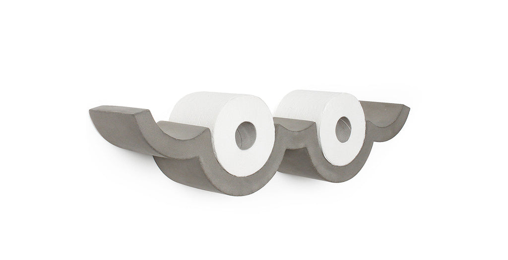 Cloud Concrete Toilet Paper Holder