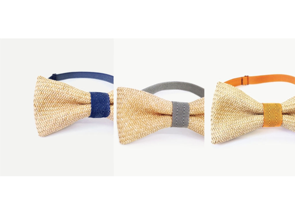 Rush Grass Bow Tie