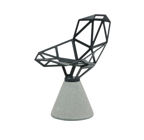 Chair_One Concrete Base