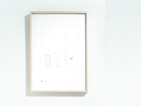 Framed Clock