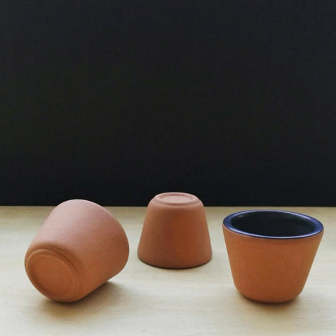 Clay Shot Glasses  (Set of 4)