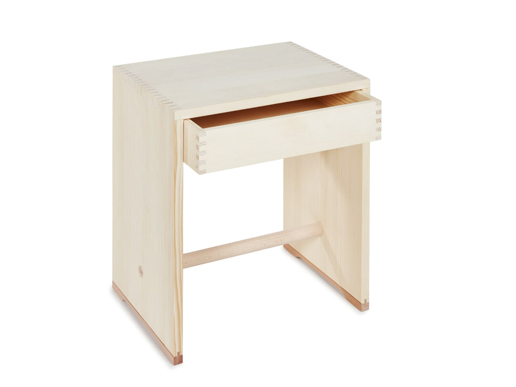 Ulm Stool With Drawer