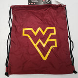 Crimson/ West Virginia Logo in Gold