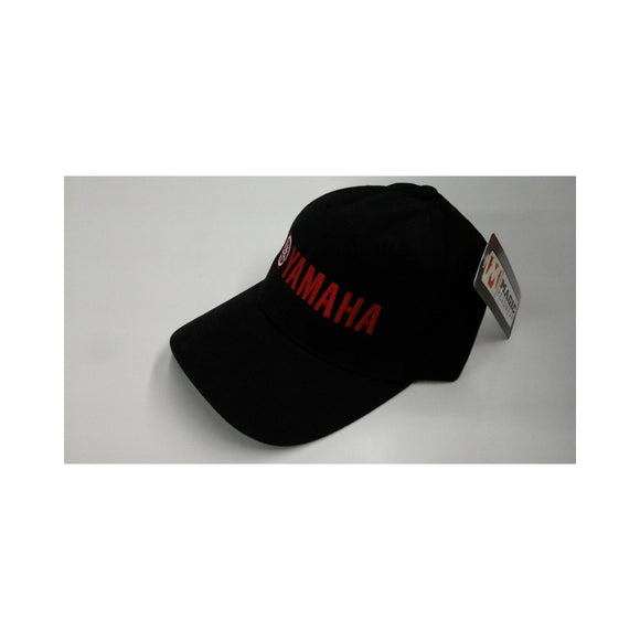 New Authentic Yamaha Hat Black Cloth/ Red Logo