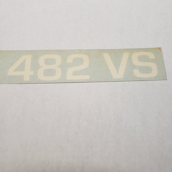 Ranger Boats 482 VS Decal