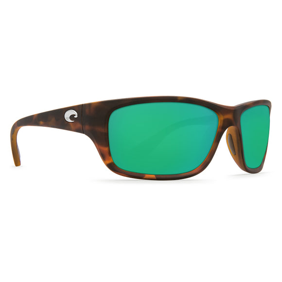 Z Discontinued Costa Tasman Sea Sunglasses Matte Retro Tort Frame/ Polarized Green Mirror Lens