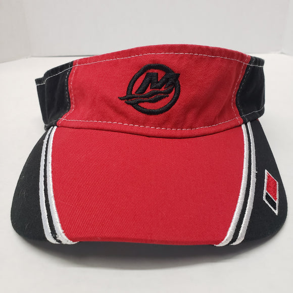 New Authentic Mercury Marine Visor Black/ Red V