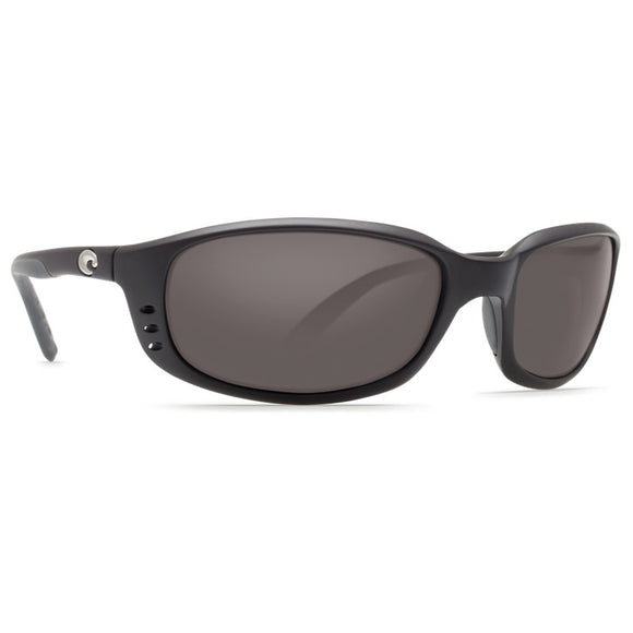 New Authentic Costa Brine Readers Matte Black/Grey 1.50 580P