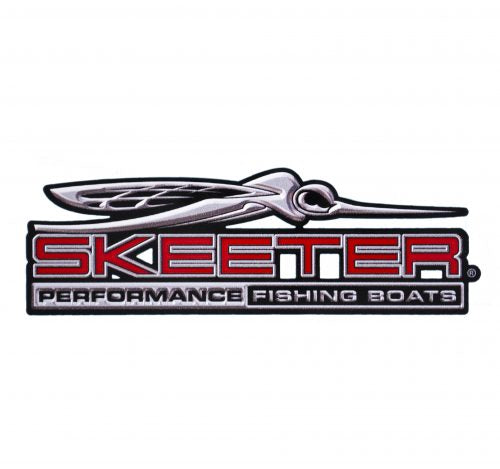 New Authentic Contour Cut Skeeter Emblem