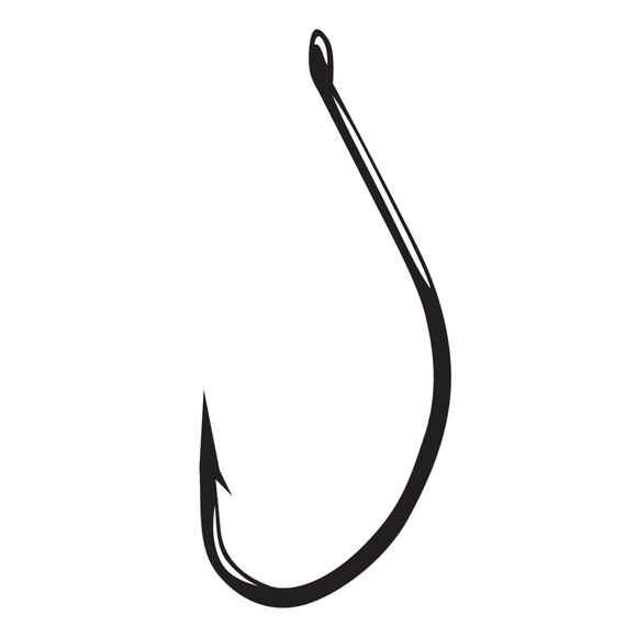 Split Shot /Drop Shot Hooks- Black