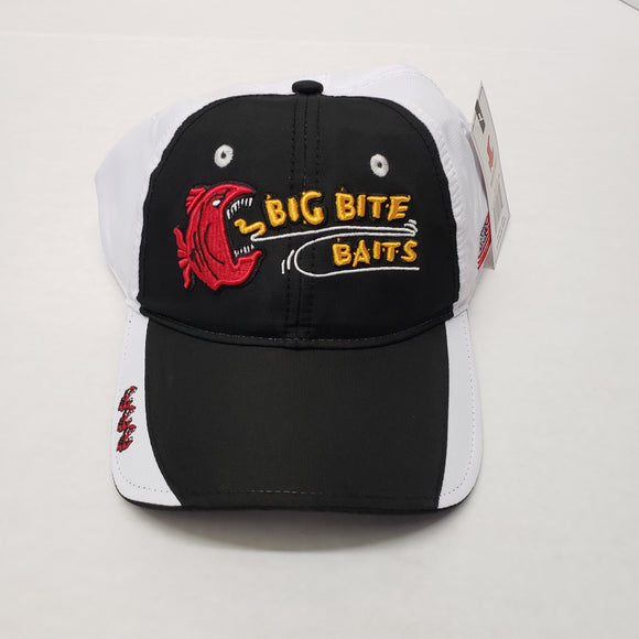 Big Bite Baits Hat Black/ White Moisture