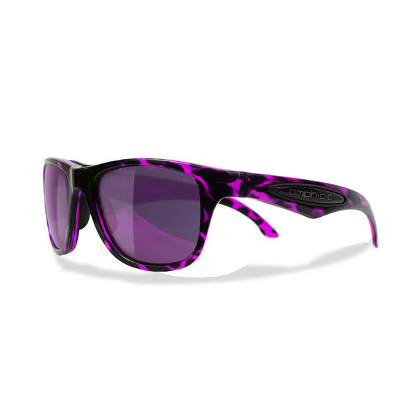 Purple Tortoise Frame with Purple Shock Lens