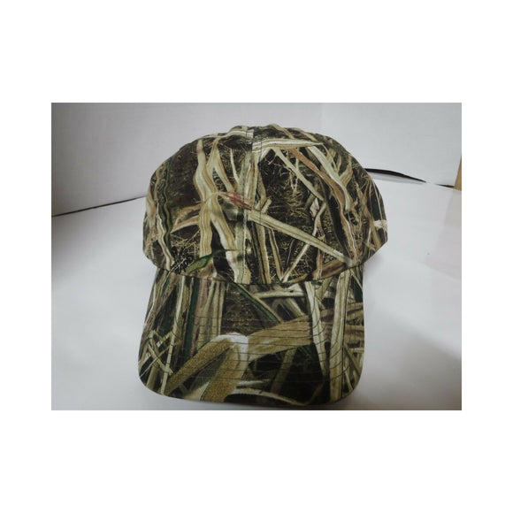 New Authentic Mossy Oak Hat Green Tree Camo Blades/ Black Mesh Liner Inside