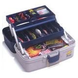 Plano 2-Tray Tackle Box Blue/White