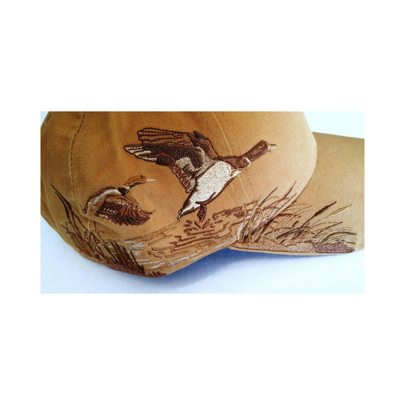 Wheat Wildlife Series Brush Twill-Mallard