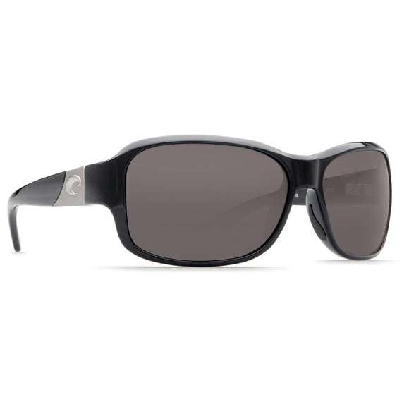 Shiny Black/ Polarized Gray Lens C-Mate 2.00