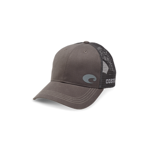 New Authentic Costa Offset C Trucker Hat Adjustable Gray