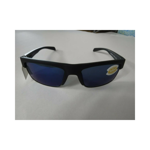 Matte Black Frame/ Polarized Gunmetal Blue Lens