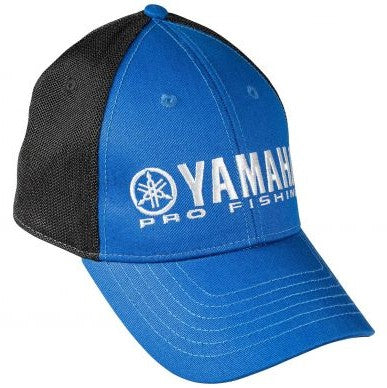New Authentic Yamaha Hat Blue/ Black Cool Mesh