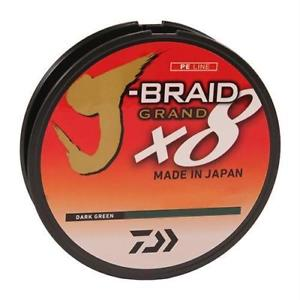 Daiwa J-Braid Grand X8 150yd