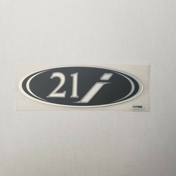New Authentic Skeeter 21i Emblem Black 8 1/2