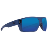 Matte Midnight Blue Frame Blue Mirror Glass Lens