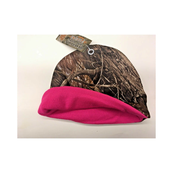 Camo Reversible with Pink Interior