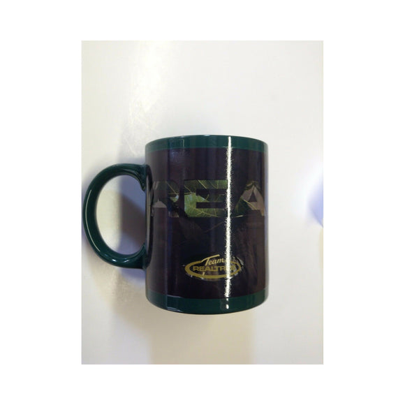 New Authentic RealTree Mug Black/Green Color Changing to Brown/ RealTree Written