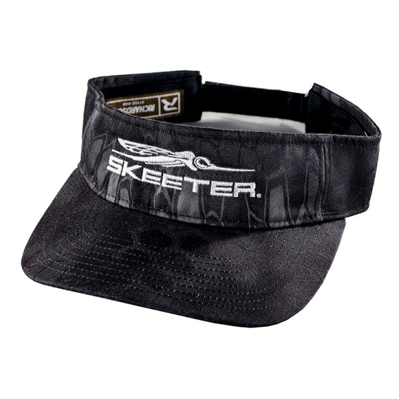 New Authentic Skeeter Visor Black/ Kryptek