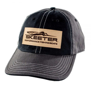New Authentic Skeeter Richardson Black/ Patch Hat