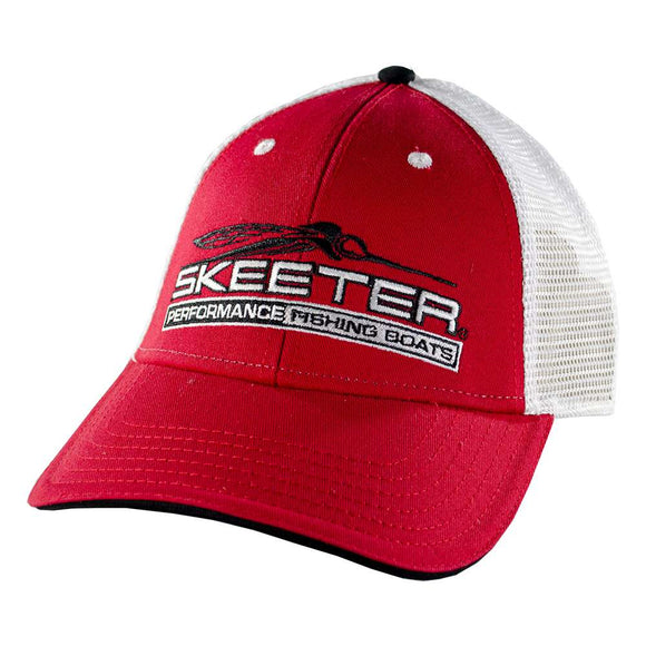 New Authentic Skeeter Youth Mesh Hat Red