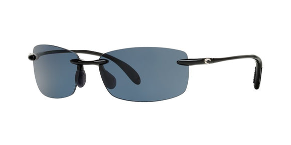 New Authentic Costa Ballast Readers Shiny Black/Grey 2.50 580 P