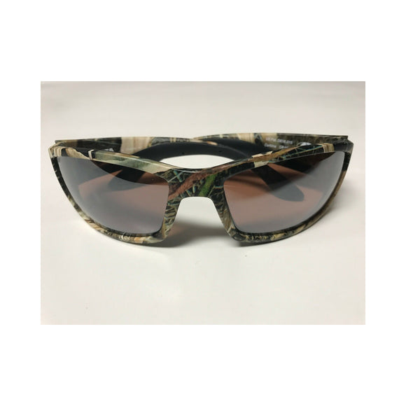 New Authentic Costa Corbina Polarized Sunglasses Mossy Oak Frame Silver Mirror Lens 580P
