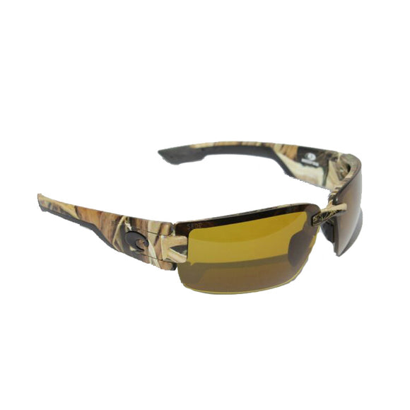New Authentic Costa Rockport Sunglasses Mossy Oak Frame/ Polarized Sunrise Lens