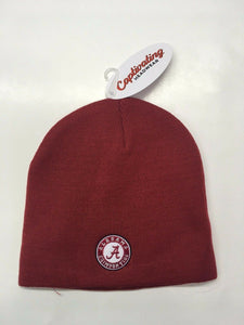 New Officially Licensed Alabama Beanie with Logo Red