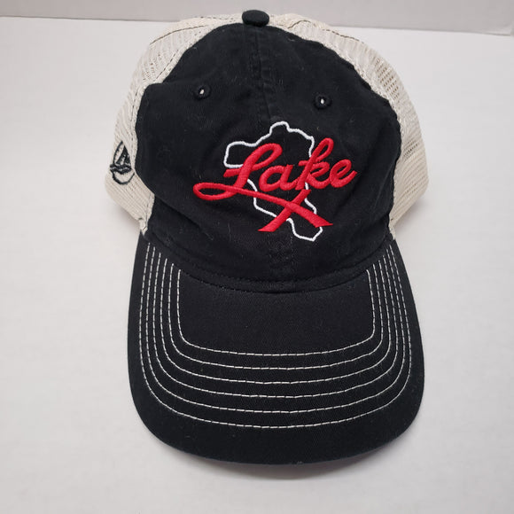 Authentic Mercury Marine Hat Black Lake X/ White Mesh