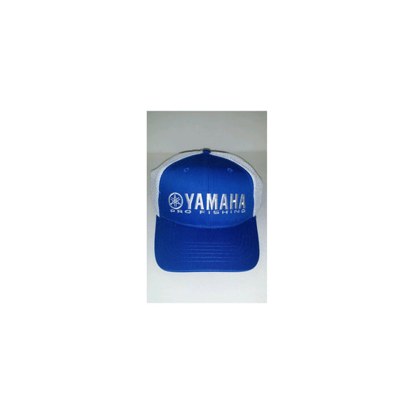 New Authentic Yamaha Hat Blue/ White Cool Mesh