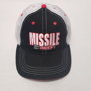 Missile Baits Hat/ Trucker/ Adjustable Black/ White/ Black