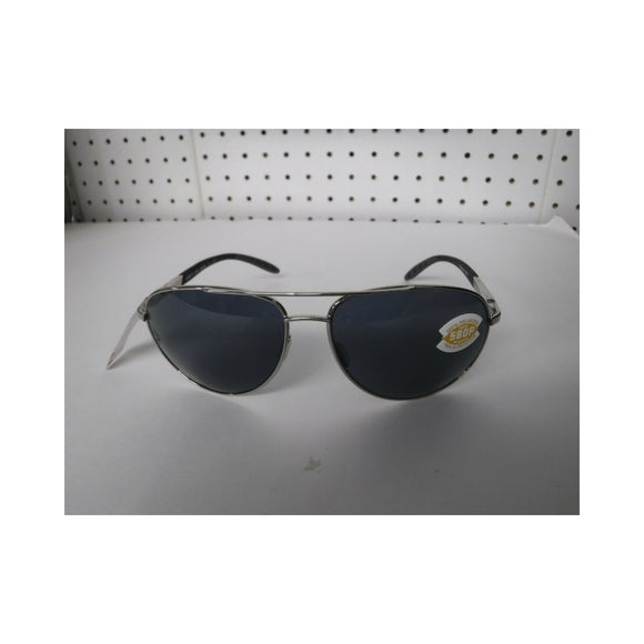 Z Discontinued Costa Wingman Sunglasses Palladium Silver Frame/ Gray Lens 580P
