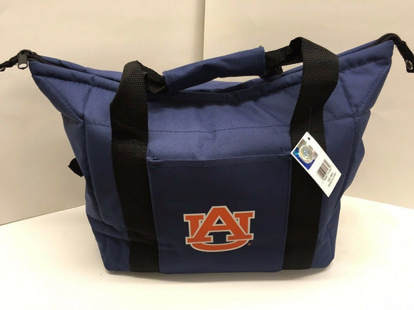 New NCAA Auburn Tigers Soft Sided 12 pack Cooler Bag