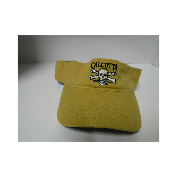 New Calcutta Visor Ripstop Q3 Liner/ Adjustable Gold
