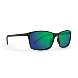 Black Frame/ Green Mirror Lens