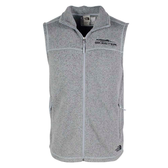 New Authentic Skeeter North Face Vest Gray