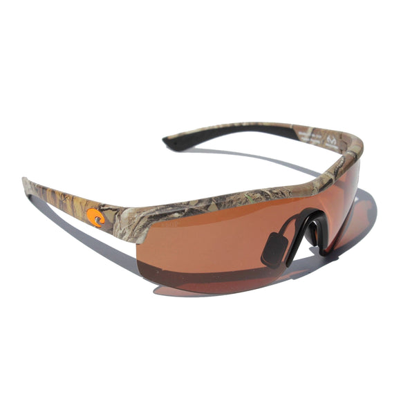New Authentic Costa RT Straits Sunglasses Xtra Camo/ Polarized Copper Lens