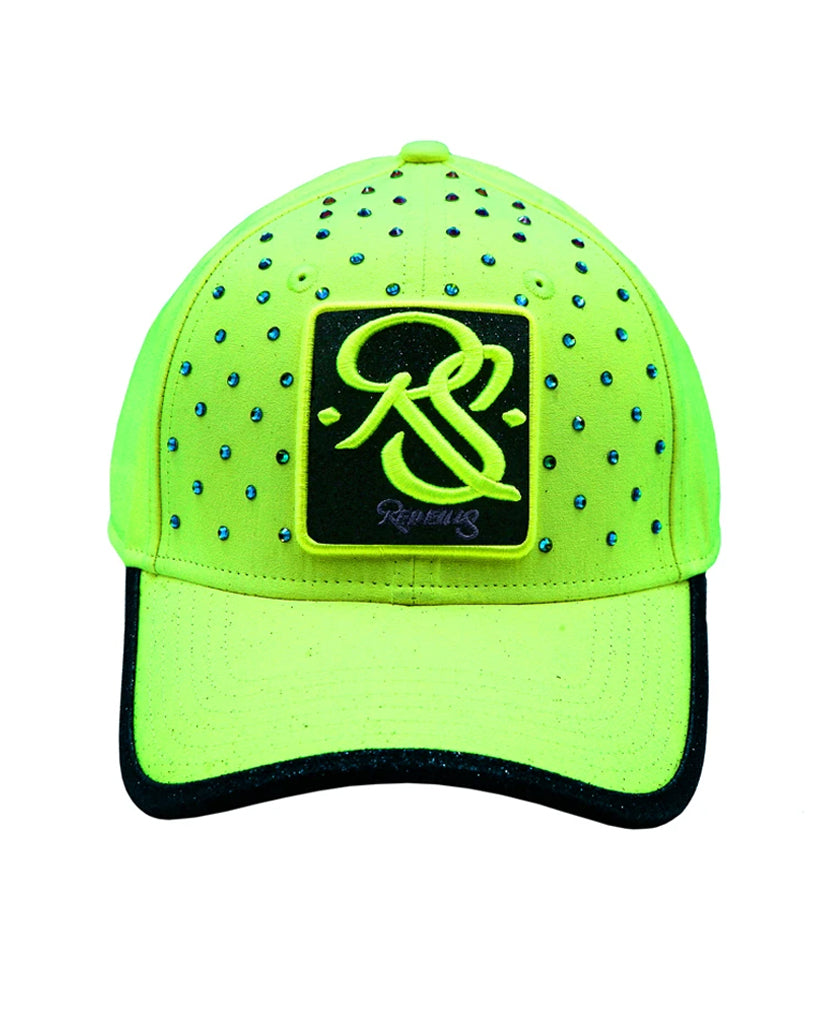 Casquette Redfills Yellow Strass