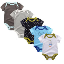 Children Summer cotton Baby Rompers/Toddler 5 pcs/lot