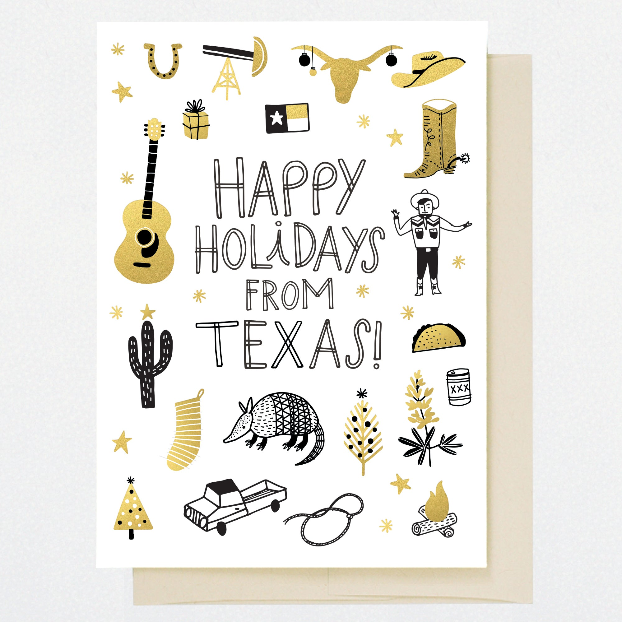 Texas holiday greeting card hellolucky m4hsunfo
